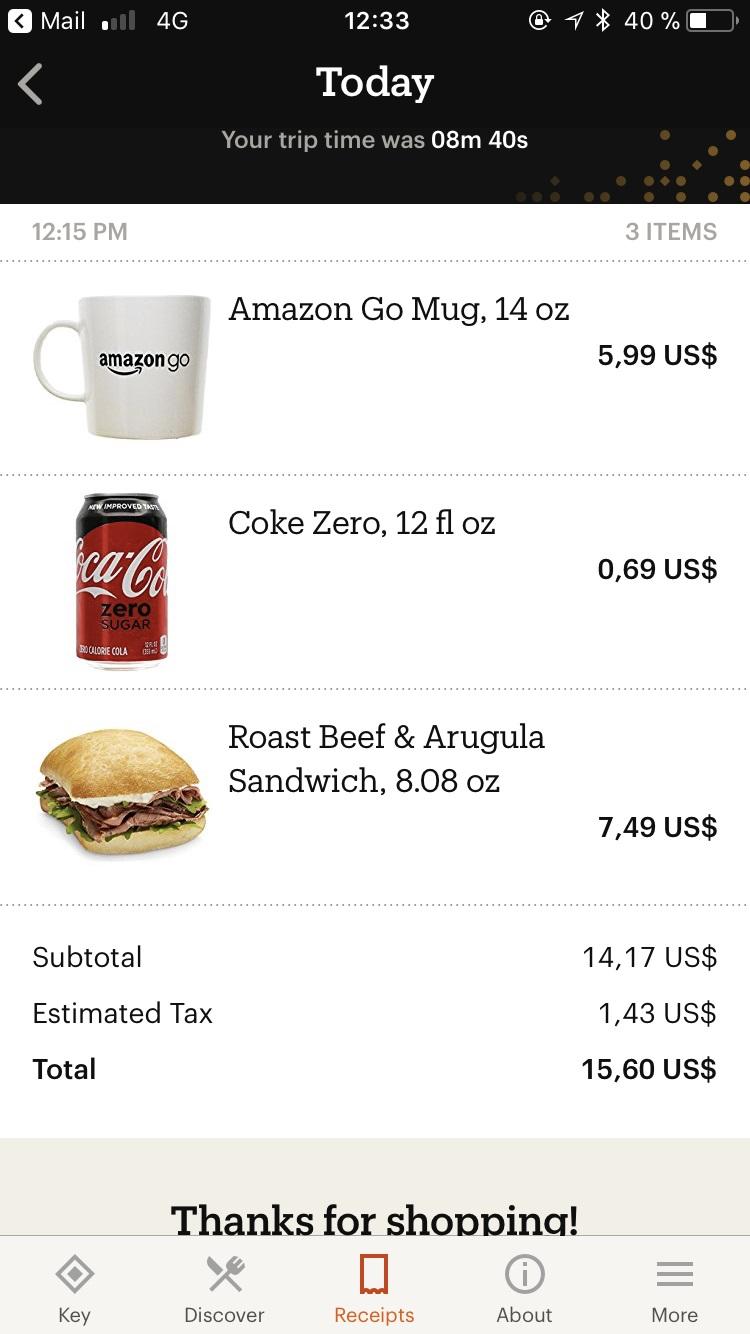 Amazon Go 7 V2